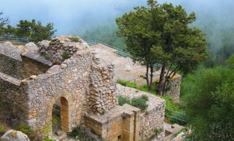 Castelul Buffavento din Kyrenia