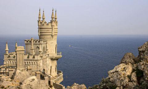 Castelul Cuibul Randunicii din Yalta