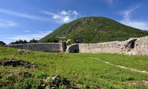 Castelul Gardiki din Insula Corfu