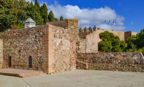 Castelul Gibralfaro din Malaga