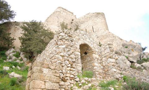 Castelul Kantara din Kyrenia