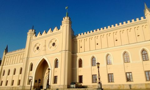 Castelul Lublin si Capela Sfanta Treime din Lublin