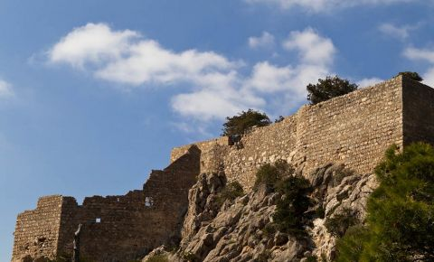 Castelul Monolithos din Insula Rodos