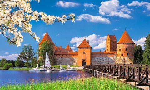 Castelul Peninsula din Trakai