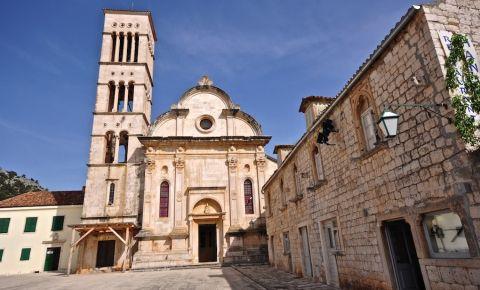 Catedrala Sfantul Stefan din Insula Hvar