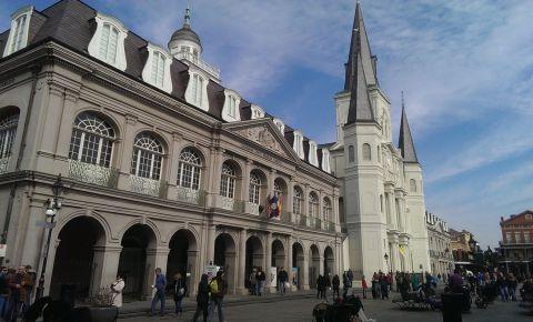Catedrala Sfantul Louis din New Orleans