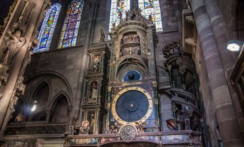 Ceasul Astronomic al Catedralei Notre-Dame din Strasbourg