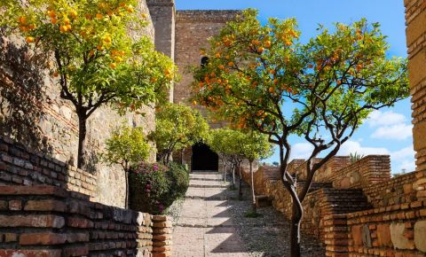 Cetatea Alcazaba din Malaga