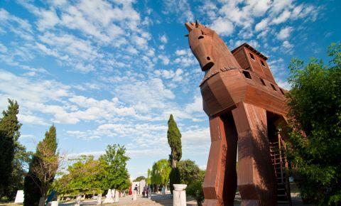 Cetatea Troia din Canakkale