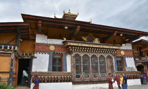Templul Changangkha Lhakhang din Thimphu