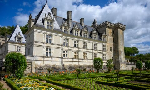 Castelul din Villandry - Amboise