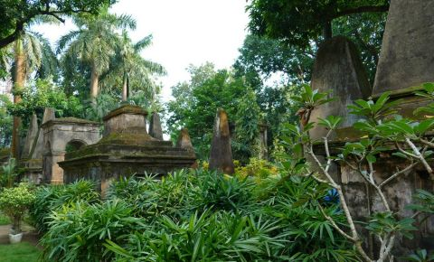 Cimitirul South Park din Calcutta