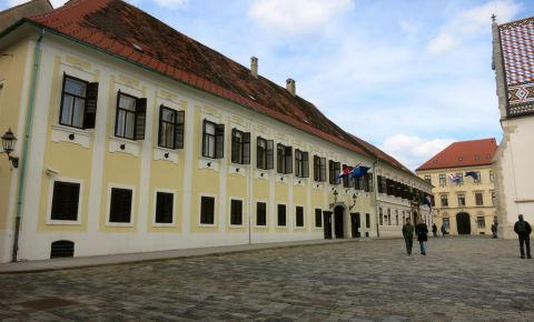 Cladirea Banski Dvori din Zagreb