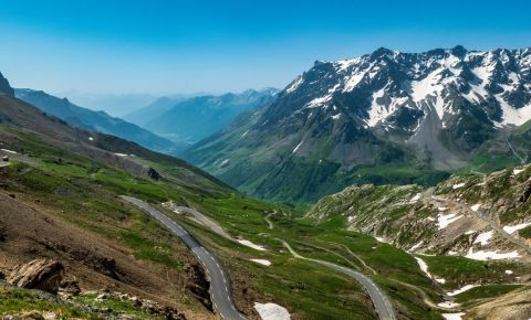 Trecatoarea Col du Galibier din Grenoble