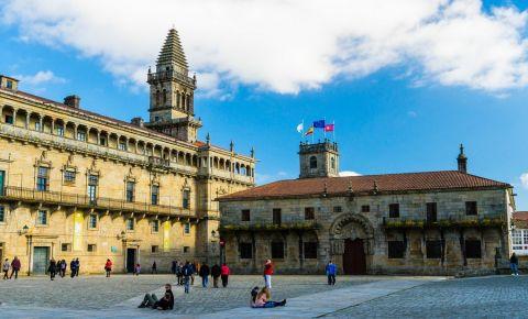 Colegiul San Geronimo din Santiago de Compostela
