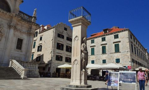 Columna Orlando din Dubrovnik