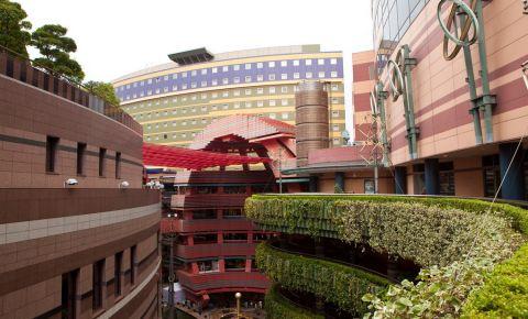 Complexul Canal City din Fukuoka