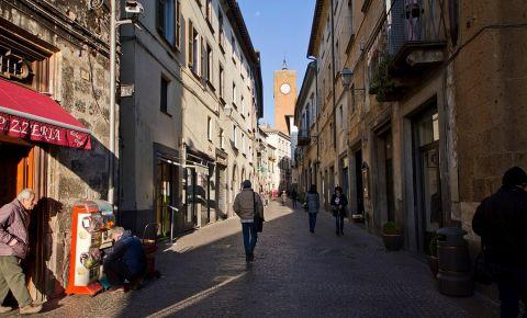 Bulevardul Cavour din Orvieto