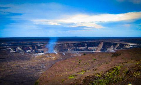 Craterul Kilauea Iki din Hawaii