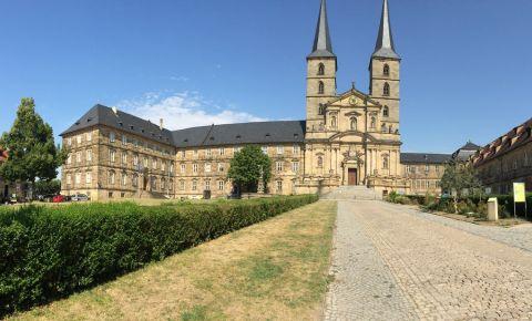 Curtea Veche din Piata Catedralei din Bamberg
