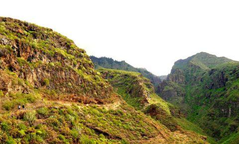 Defileul Barranco Del Infierno din Tenerife