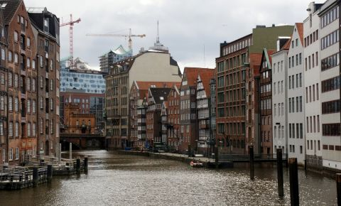 Cartierul Deichstrasse din Hamburg