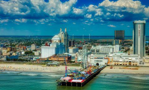 Digul Steel Pier din Atlantic City