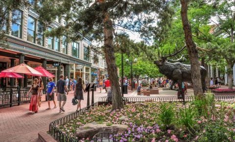 Districtul Pearl Street din Boulder
