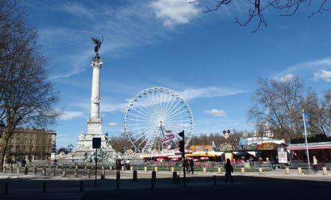 Esplanada Quinconces din Bordeaux