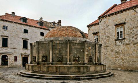 Fantana Onofrio din Dubrovnik