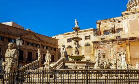 Fantana Pretoria din Palermo