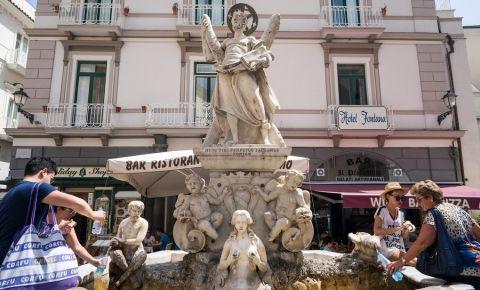 Fantana Sant`Andrea din Amalfi