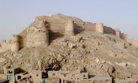 Fortareata Bala Hissar din Kabul