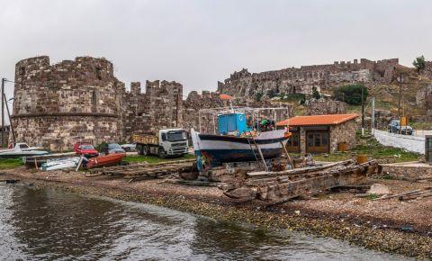 Fortareata Mytilini din Insula Lesbos