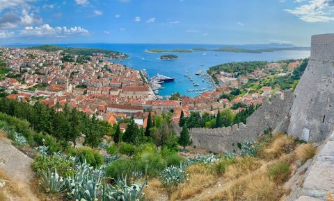 Fortareata Spaniola din Insula Hvar