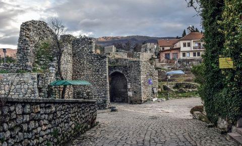 Fortificatiile din Ohrid