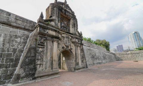 Fortul Santiago din Manila