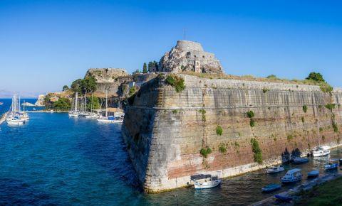 Fortul Vechi din Insula Corfu