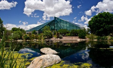 Gradina Botanica Rio Grande din Albuquerque