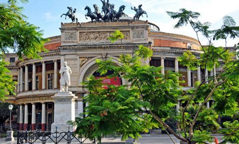 Gradina Garibaldi din Palermo