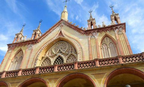 Gradina Manastirii Cimiez din Nisa
