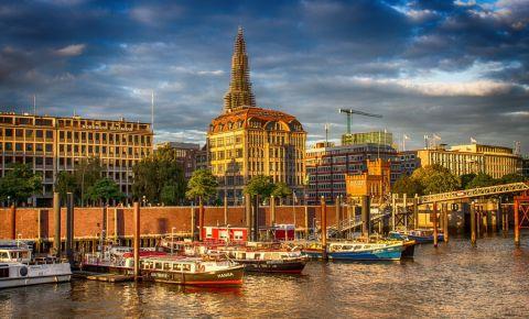 Districtul HafenCity din Hamburg