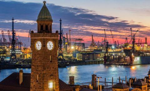 Portul din Hamburg