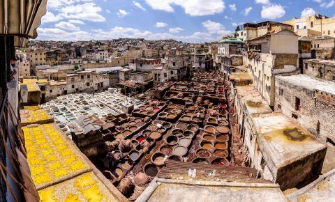 Piata Henna din Fes