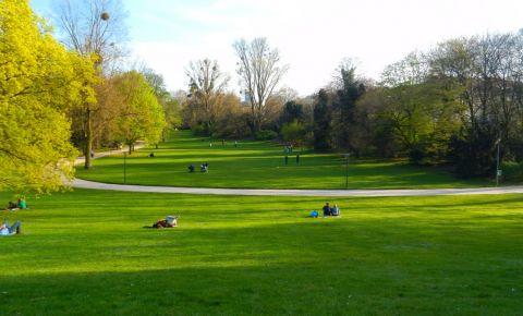 Parcul Hofgarten din Dusseldorf
