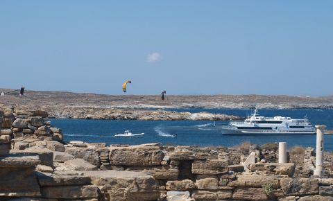 Insula Delos din Mykonos