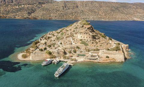 Insula Spinalonga din Creta