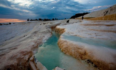 Izvoarele Termale din Pamukkale