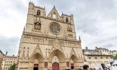 Catedrala Saint Jean Baptiste din Lyon