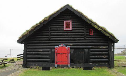 Casa Kirkjuboargardur din Kirkjubour